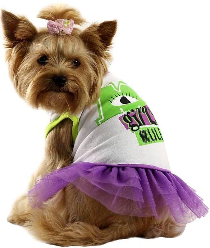 Футболка Triol Disney Monsters с юбкой для собак в интернет магазине ZooVenta.ru