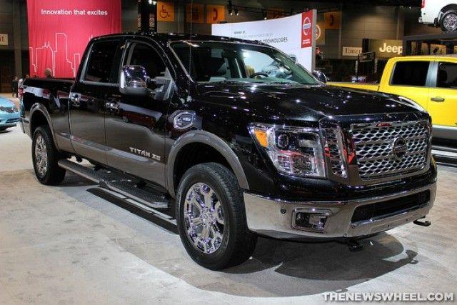 New #Nissan Titan XD | The News Wheel #trucks #offroad