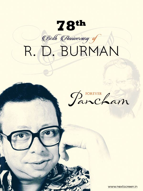 #RDBurman : The Legend #Music Composer, #Singer & Director of the Indian #Film Industry Remembering #Pancham Da on His Birthday!!