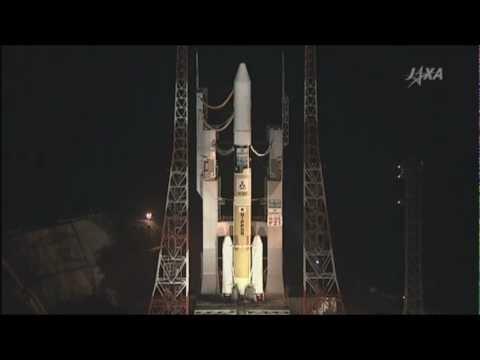 第一期水循環変動観測衛星「しずく」打ち上げ Earth observation satellites SHIZUKU