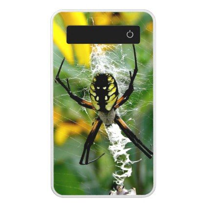 Awesome Photo Orb Spider in Web Power Bank - photo gifts cyo photos personalize