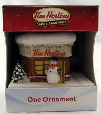 love gift ideas.   Tim Hortons Coffee Cafe STORE Christmas Tree Ornament Horton's NEW for 2012