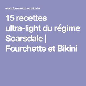 15 recettes ultra-light du régime Scarsdale | Fourchette et Bikini