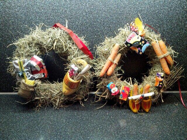 DIY: Sinterklaaskrans. Te freubelen in één avondje.