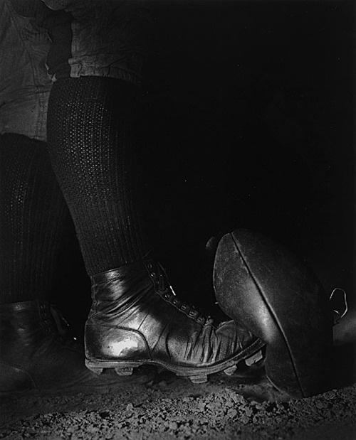 Harold Edgerton, Football Kick, 1934, printed later, gift of the Harold and Esther Edgerton Family Foundation