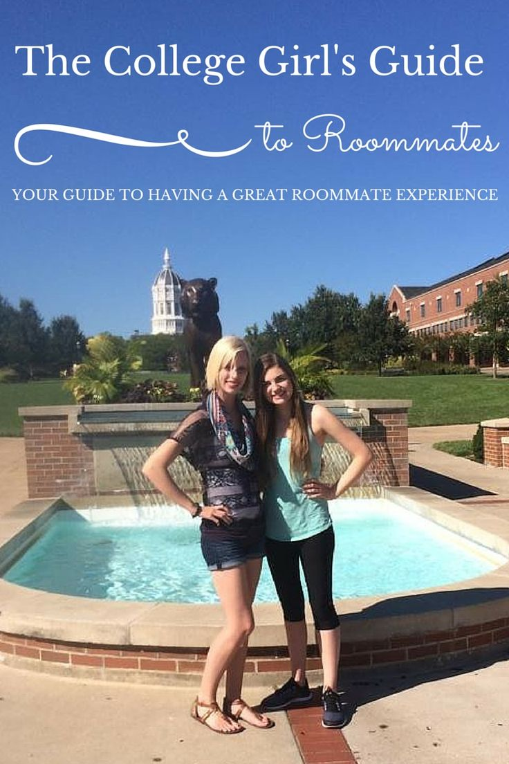 The College Girl's Guide to Having a Roommate