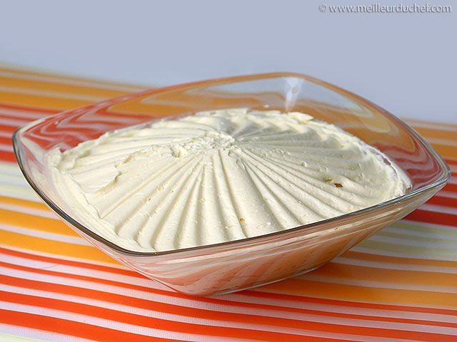 Crème au beurre - Recette de cuisine avec photos - Meilleur du Chef