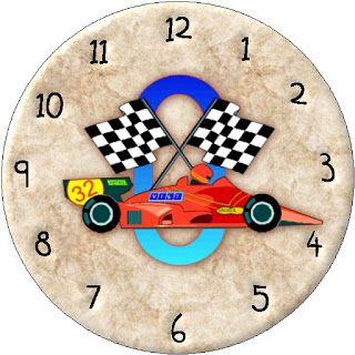Lamina reloj