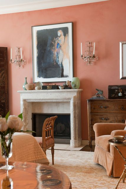 peachy expensive home decor. Tour an Art Collector s Home in San Francisco 27 best Terra Cotta Rooms images on Pinterest  decor