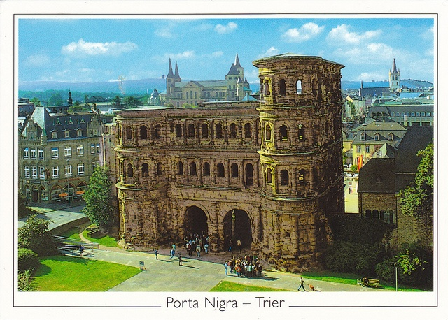 Roman Monuments, Cathedral of St Peter (Dom Trier) and Porta Nigra, Trier, Germany