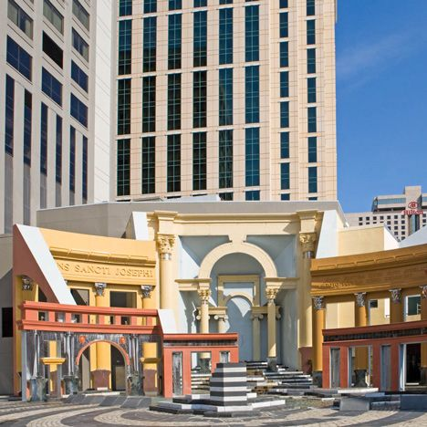 Postmodern architecture: Piazza d'Italia, New Orleans by Charles Moore