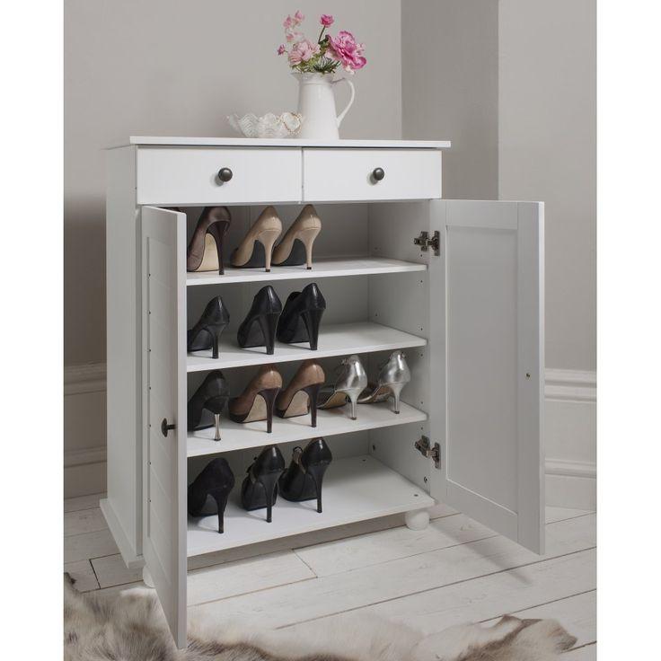 Venetia Shoe Storage Cabinet With Drawer