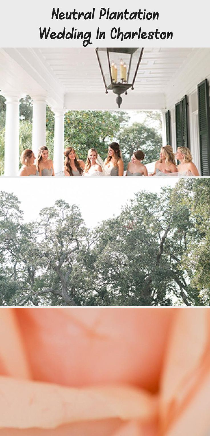 Neutral Plantation Wedding in Charleston - Inspired By This #MaroonBridesmaidDresses #BridesmaidDressesPlusSize #BridesmaidDressesIndian #PlumBridesmaidDresses #BridesmaidDressesDustyRose