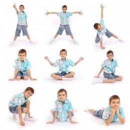Kids' Yoga Poses to practice Mindfullness