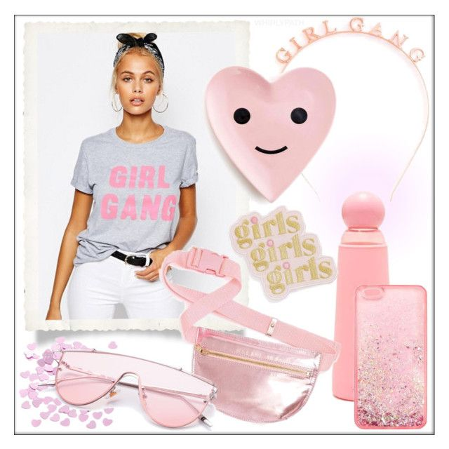 Girl Gang! by whirlypath on Polyvore featuring ban.do