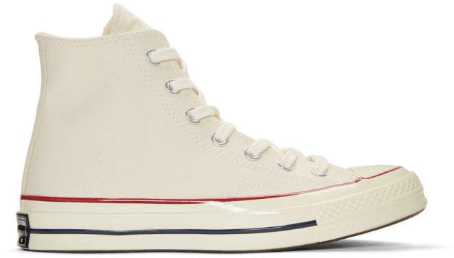 Off White Chuck Taylor All Star 70 High Top Sneakers #lace