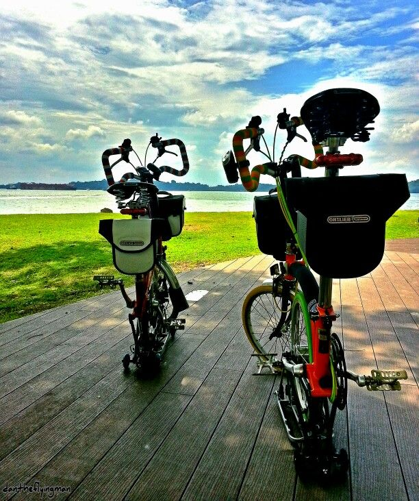 112 best adventures on our bromptons and other 2 wheelers images on
