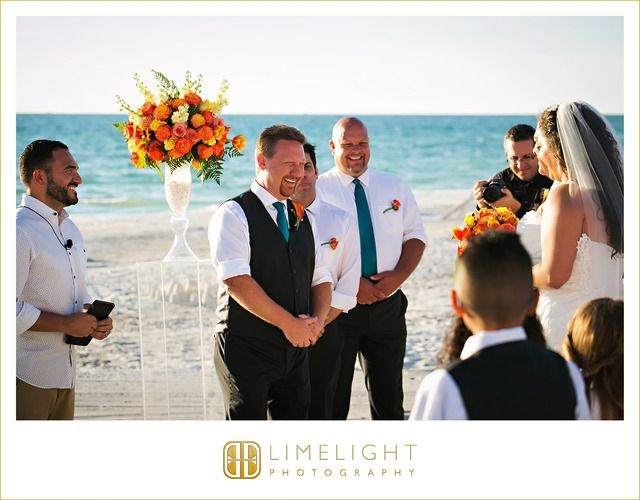 #wedding #weddingphotography #photography #florida #lidokey #sandcastleresort #lidobeach #resort #stepintothelimelight #limelightphotography  #groom #bride #husband #wife #weddinginspiration #beach #orange #teal #weddingdress #weddinggown #white #lace #alfredoangelo #design #dress #sunset #ceremony #family#palmtrees #sand #guests #royaleventsandservices