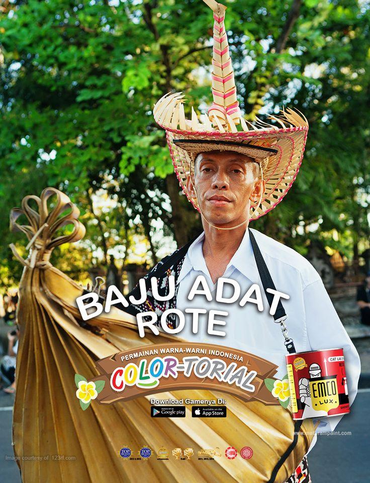 goo.gl/HxyabZ   Indonesia kaya dengan ragam kain tenunnya, salah satunya tenun ikat dari Nusa Tenggara Timur. Kawan EMCO, tenun ikat tersebut merupakan bagian dari pakaian adat masyarakat NTT baik untuk pria maupun wanita. Warna yang mendominasi tenun ikat khas NTT tidaklah terlalu mencolok yaitu hitam, merah, putih dan kuning. Hasil tenun ikat yang berbentuk sarung biasa disebut dengan Lambi Tei, jika berbentuk selimut disebut dengan Lafe Tei.  Unduh gamenya di App Store goo.gl/nrLtNJ