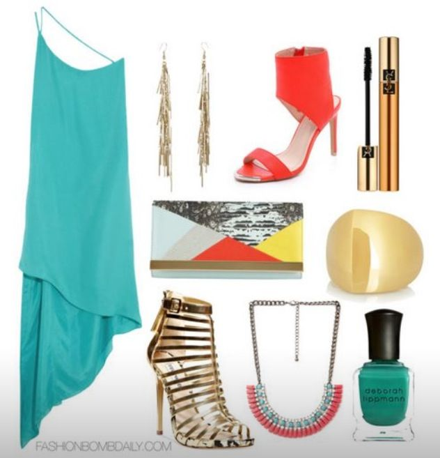 What to Wear for a Beach Wedding Mason by Michelle Mason Asymmetric Silk  Crepe Dress Steve Madden Marnee Platform Sandals The Blonde Salad Steve  Madden ...