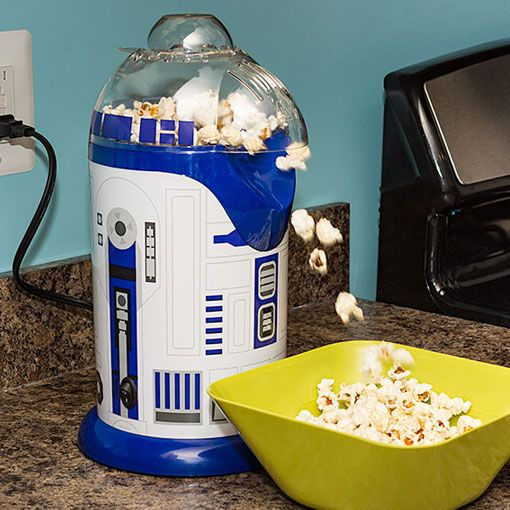 R2-D2 Popcorn Popper ⋆ Gifts for Star Wars Fans!
