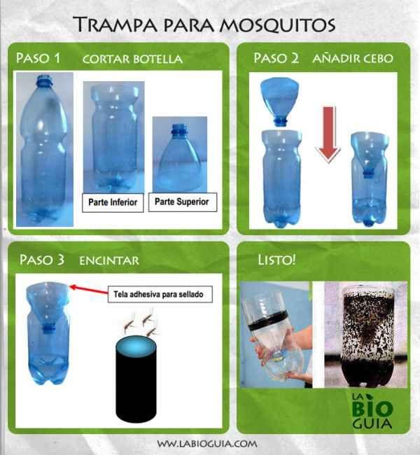 como hacer una trampa para mosquitos!
