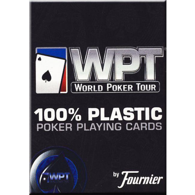 De pokerkaarten van Fournier ondersteunen het succes van de WPT met een high-end dek gemaakt van 100% plastic speelkaarten. Deze nieuwe World Poker Tour kaarten van Fournier gemaakt van 100% plastic casino kwaliteit zijn nu online te koop bij Pokerwinkel.nl.