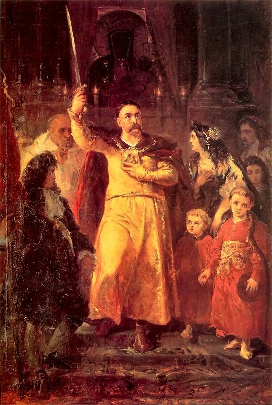 Jan III Sobieski w Częstochowie, Jan Matejko