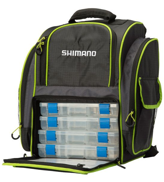 SHIMANO Shimano 4 Box Back Pack - Overview | All Accessories | Shimano Fishing NZ