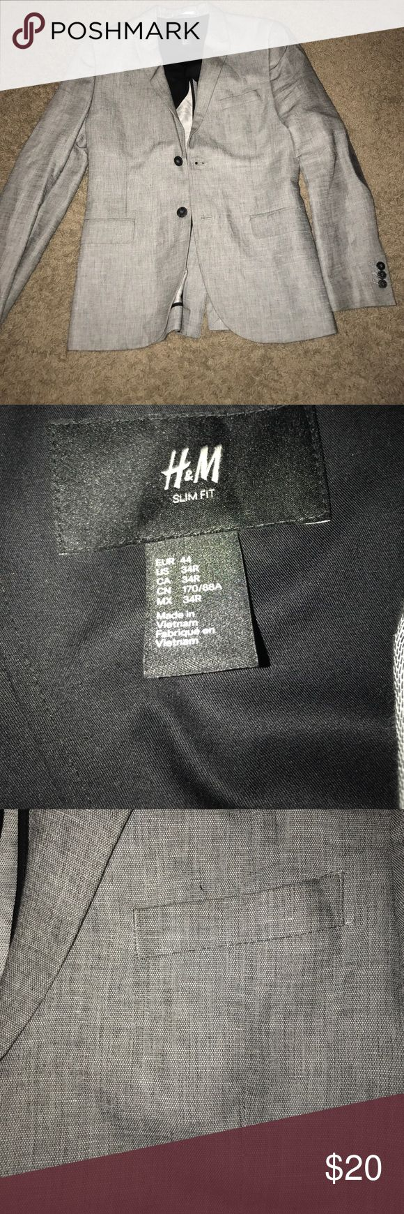 Mens H&M Slim Fit Blazer Worn to a few occasions but still in GREAT shape H&M Suits & Blazers Sport Coats & Blazers