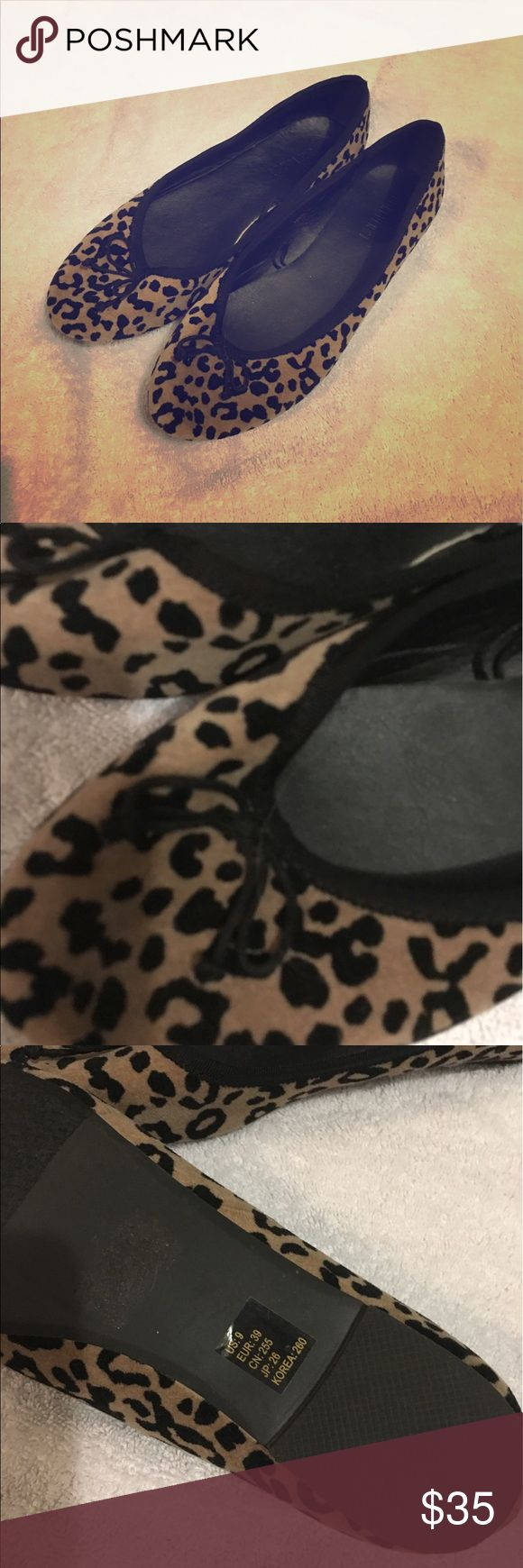 Leopard flats Adorable leopard flats that will add a touch of pizazz to any outfit Shoes Flats & Loafers
