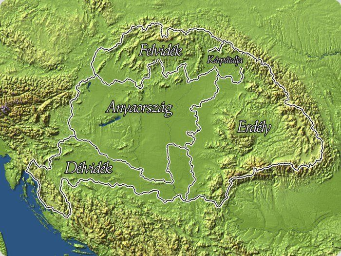 Kárpát-medence térkép