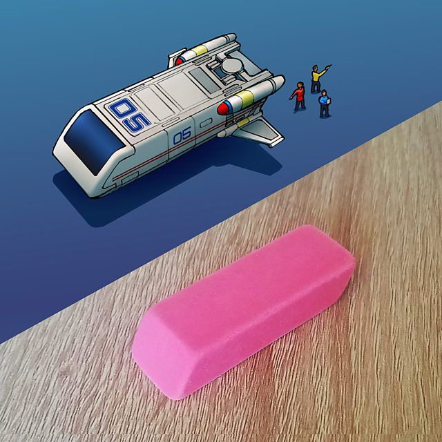 Arts – Out-of-this-world spaceship designs based on everyday objects