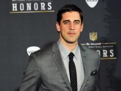 Aaron Rodgers -- Green Bay quarterback 2011 Assoc Press NFL MVP award in a landslide
