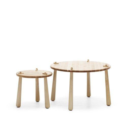 S-wood bord - S-wood bord - björk, ø40 cm