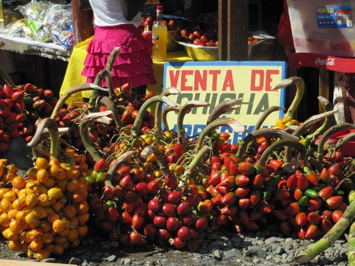 Chontaduro cali colombia