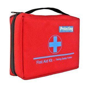 Kit de premier secours 119 pcs – Sac de survie d'urgence, Designer pour la voiture, la maison, Camping, Chasse, Voyage, Plein air ou…