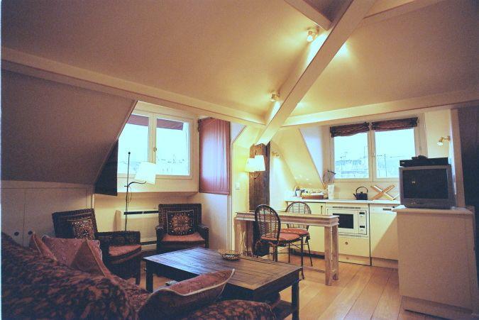 Main room in eve Paris apartment