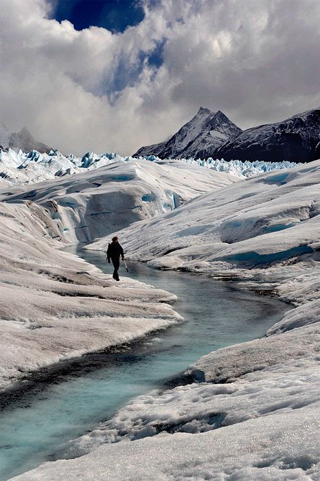 Glaciar Perito Moreno, Parque Nacional de Los Glaciares, Patagônia Argentina.