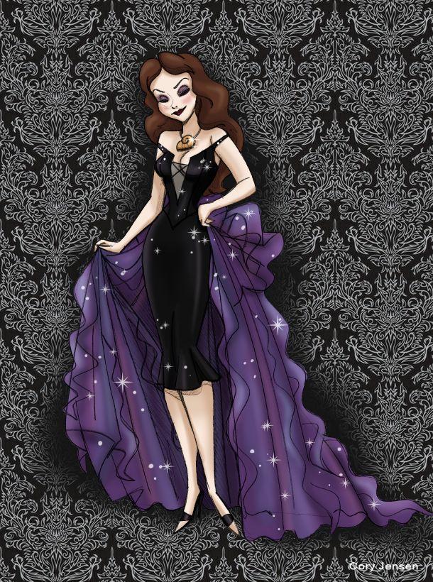La sirenita...... Ursula disfrazada de Vanesa