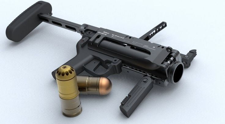 M320 grenade launcher. Got to use these in Afghanistan. Love the beehive round there.