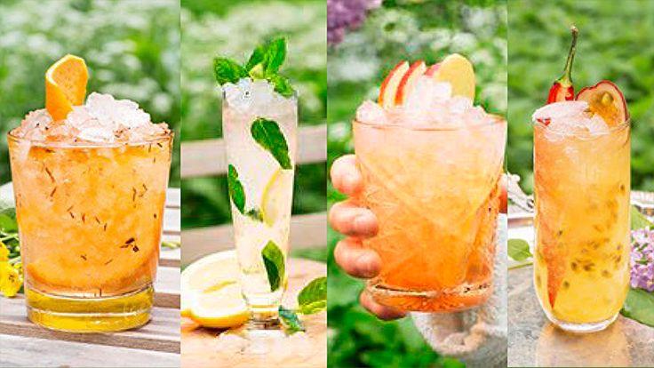 4 läckra alkoholfria drinkar!