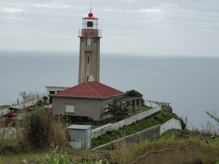 Carapacho Light, Ilha Graciosa in Ponta Graca. Taken 2-21-14