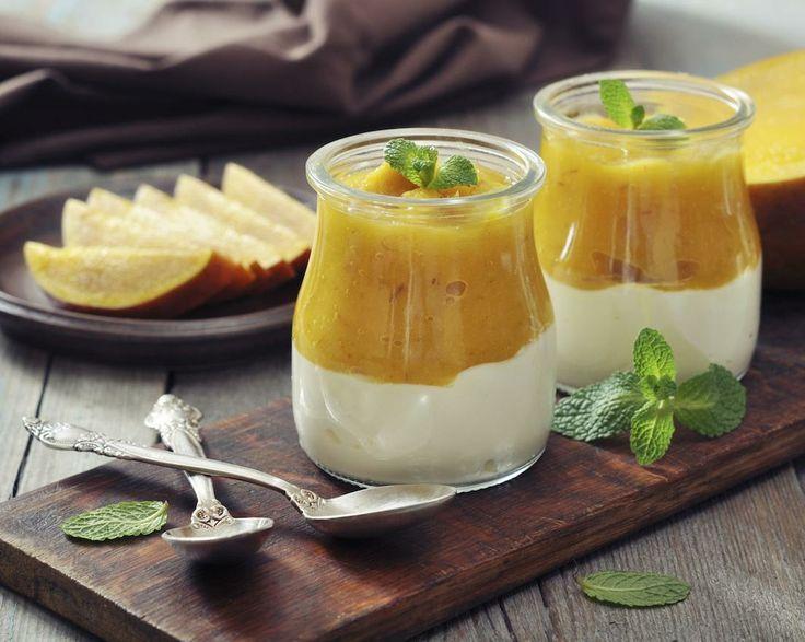 Deserturi dietetice   Retete cu mango: mousse dietetic, de primavara!