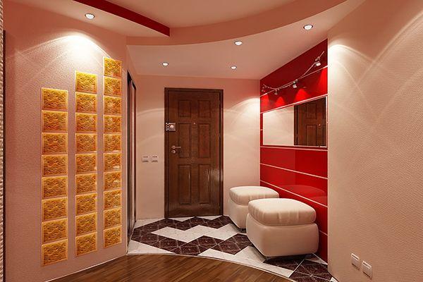 Дизайн прихожей: освещение, мебель, аксессуары