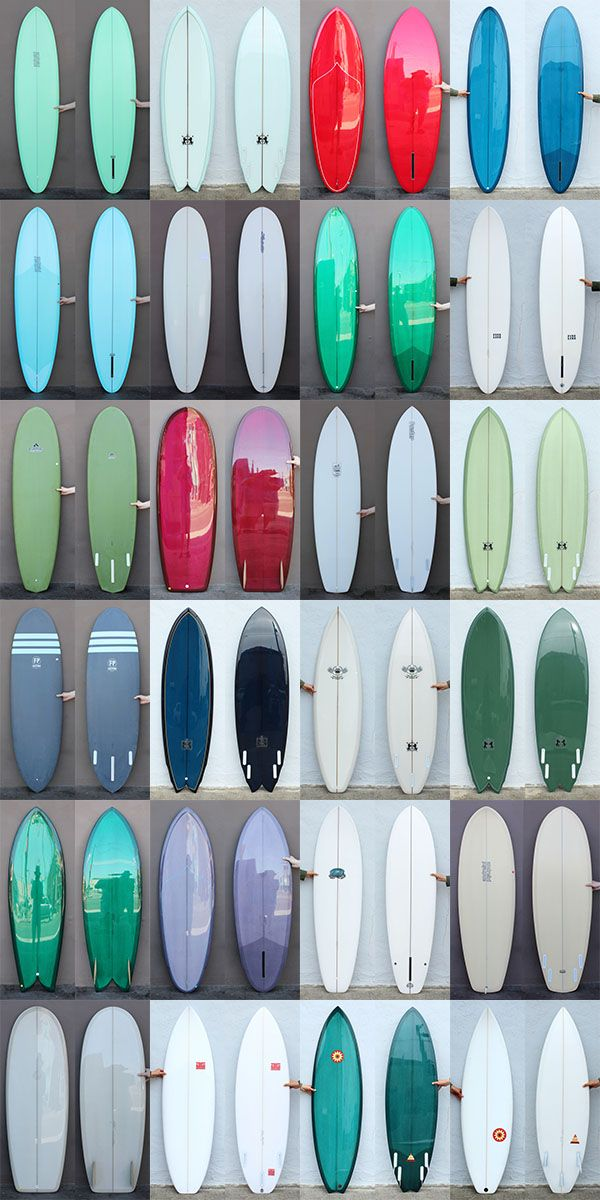 Boards from Mollusk Surf Shop