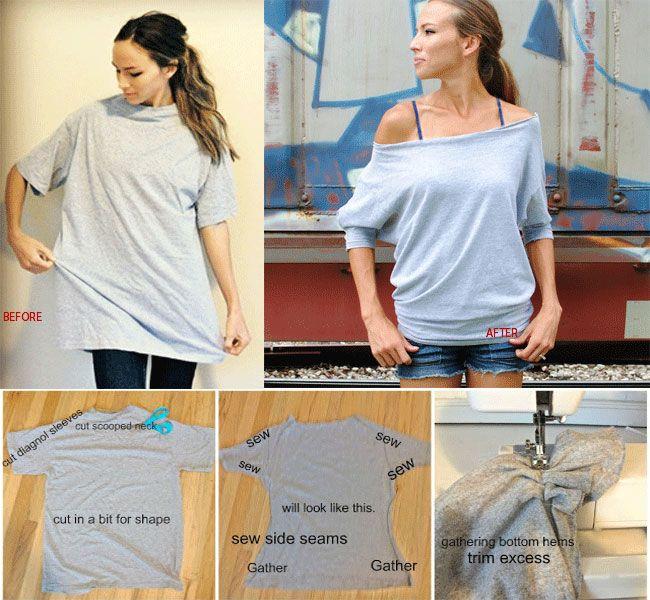 T-Shirt DIY redesign