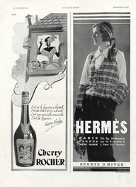 1931 Fashion Illustration Brand:  Hermès (Sportswear)