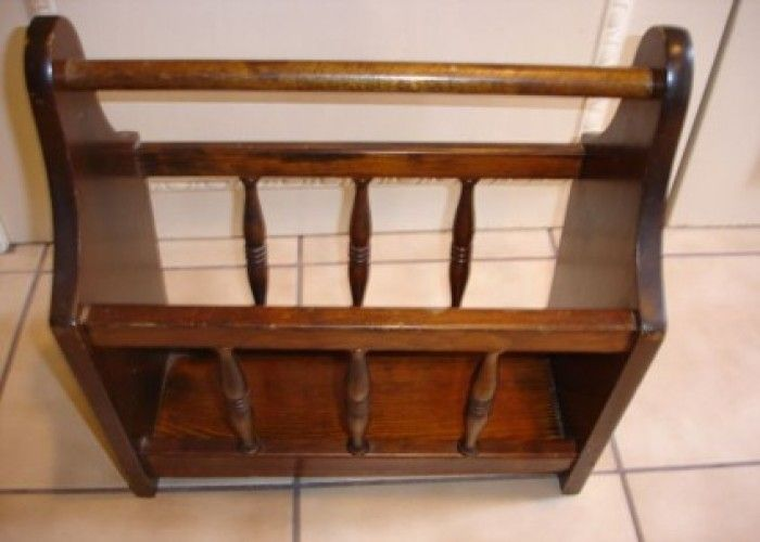 Wood Magazine Rack ~ Images about vintage magazine racks on pinterest