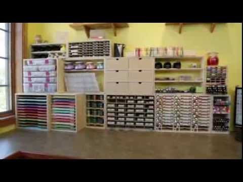 17 best images about stampin up organizing on pinterest for Stampin pretty craft room